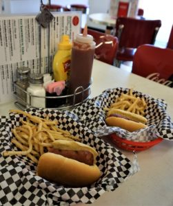 Hotdogs and fries and Twisters