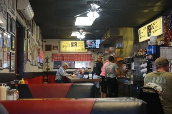 Inside of Sid's Diner