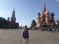 Red Square in the sunshine