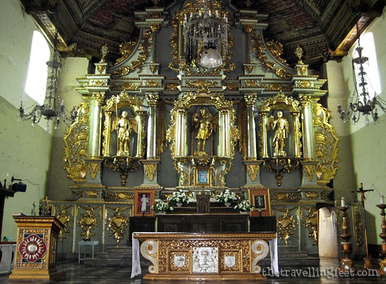 Argao Church altar