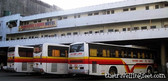 Victory Liner terminal in Olongapo