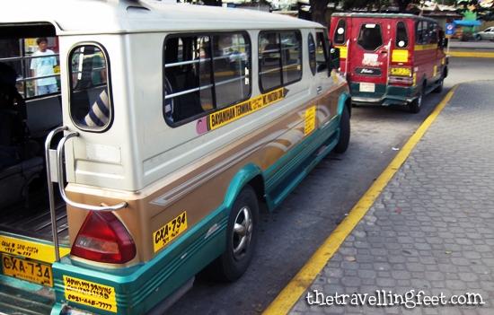jeepney to Clark Airport