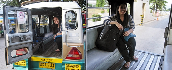 Jeepney to Clark Airport