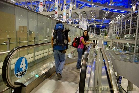 Suvarnabhumi Airport a.k.a. Bangkok International Airport