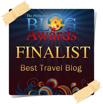 Philippine Blog Awards 2011 Best Travel Blog Finalist