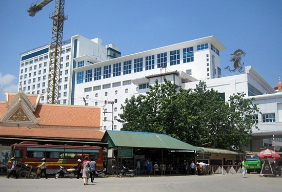 Immigration Office Poipet Cambodia