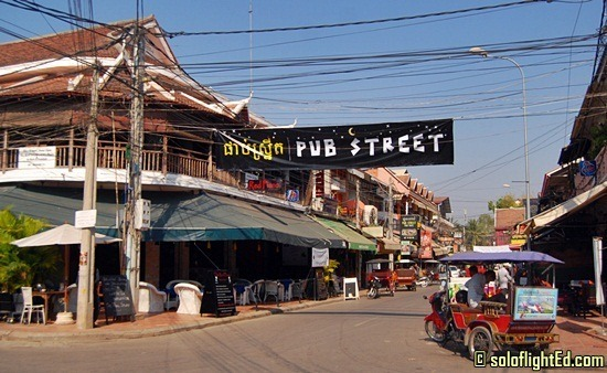 Pub Street in Daylight