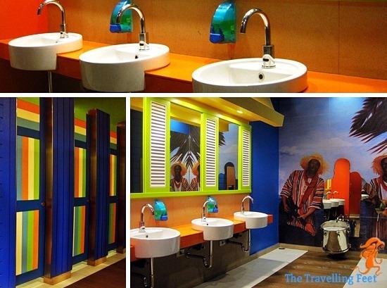 bahamas-inspired bathroom