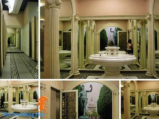 rome inspired bathroom