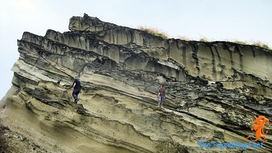 rock formation biri island