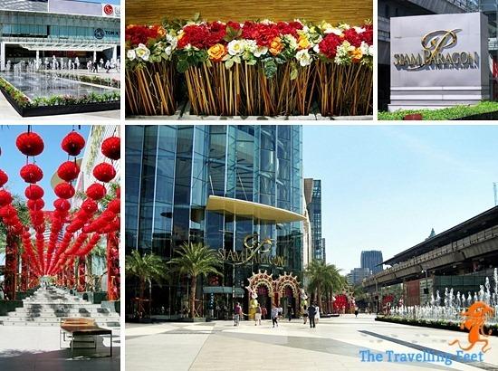 Siam shopping centre Bangkok