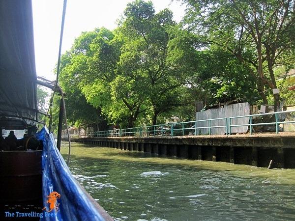 the canals of Bangkok