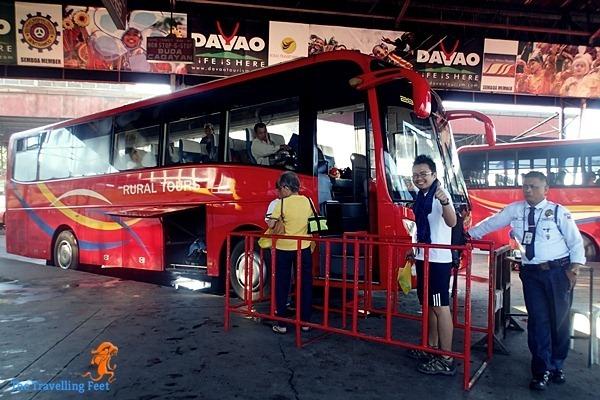Davao to Cagayan bus