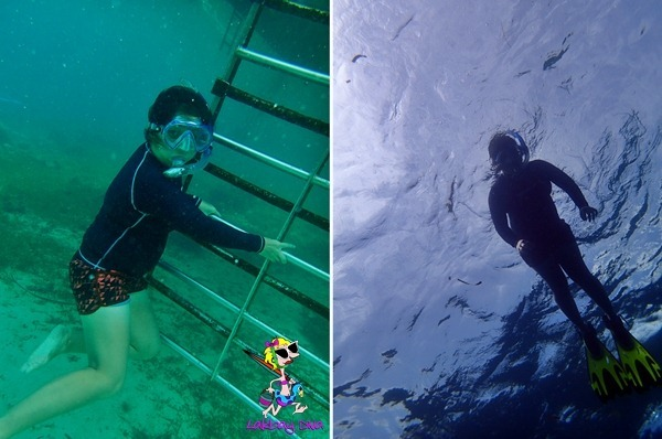 freediving session