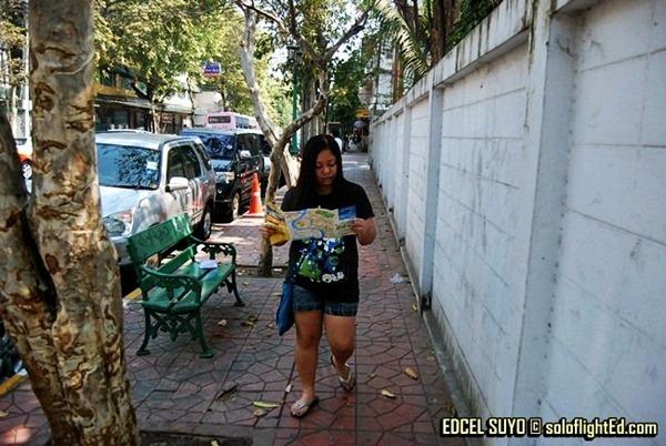 Phra Artit Road Bangkok