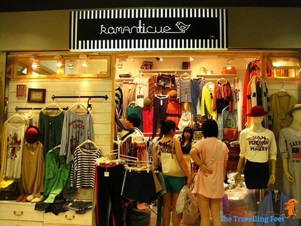 where to shop in bangkok