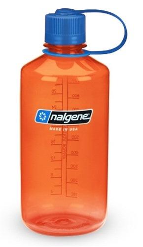 32 ounce Tritan Orange Nalgene Water Bottle