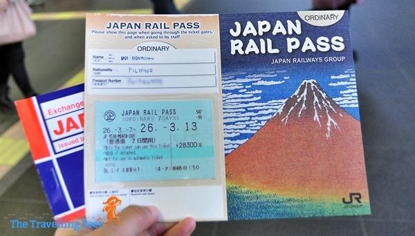 Japan Rail Pass or JR Pass