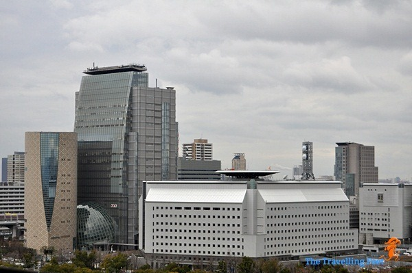 Osaka City buildings