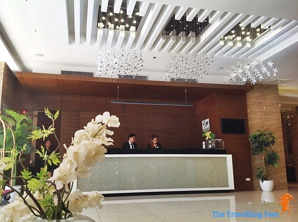 brentwood suites reception area