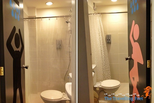 bathroom junction hostel