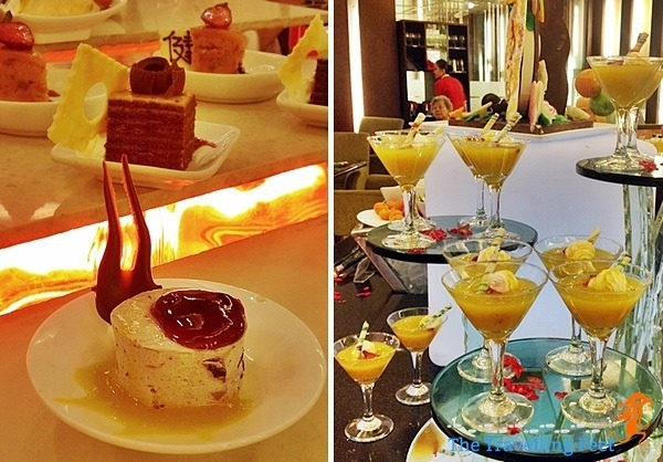 desserts at the manila pavilion hotel