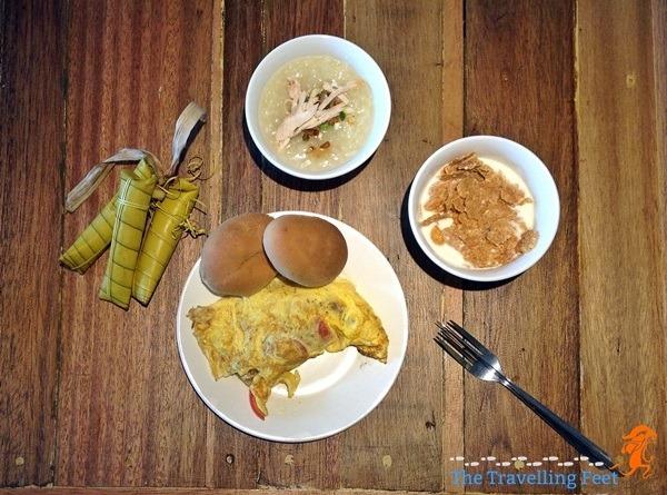 z hostel breakfast offerings
