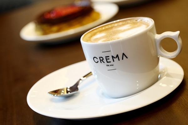 Crema's premium coffee creations