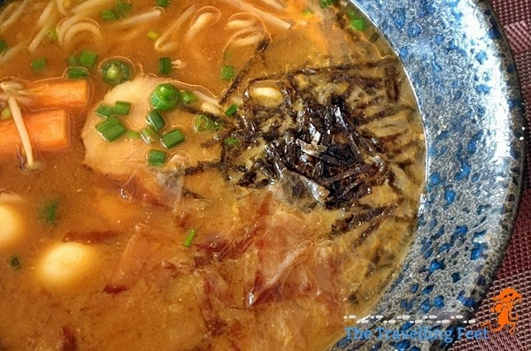 Ramen at Luxent Hotel