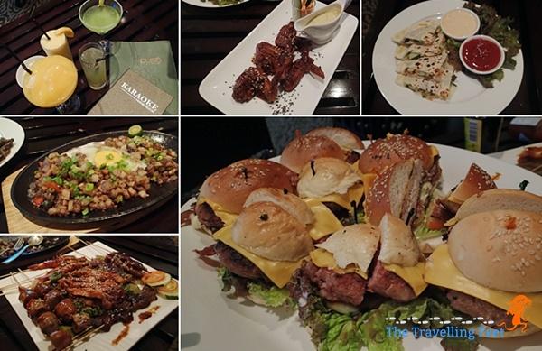 bar chow food at quest hotel cebu