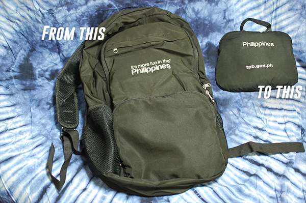 foldable day pack