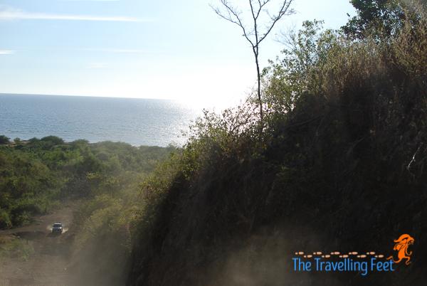 a steep climb uphill Bantay Bato in Narvacan