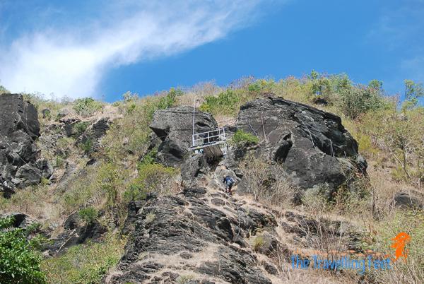 rock wall climbing at narvacan