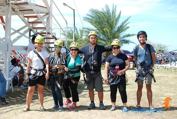the rock climbing team