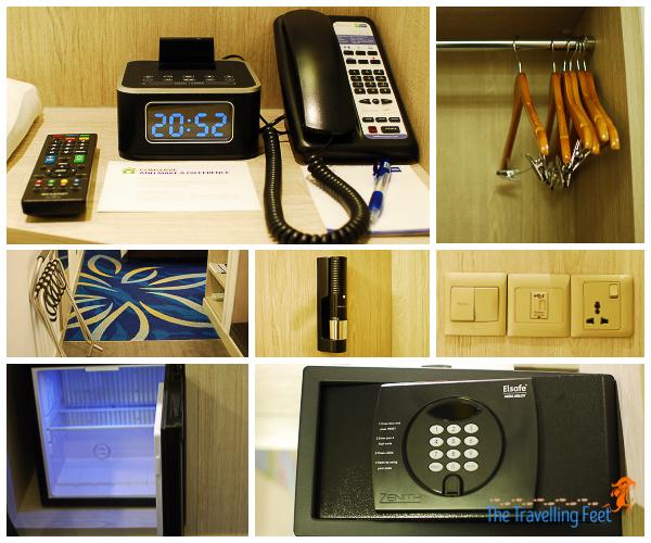 holiday inn express kl room amenities