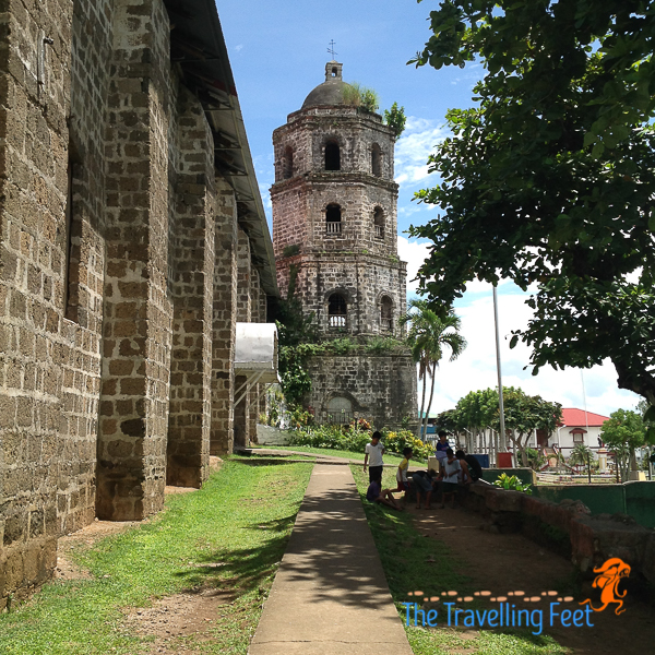 side view of magdalena church in laguna