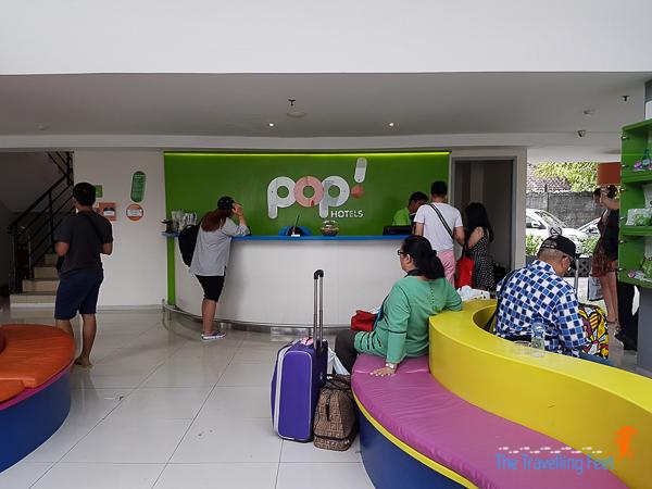 pop hotel kuta bali lobby