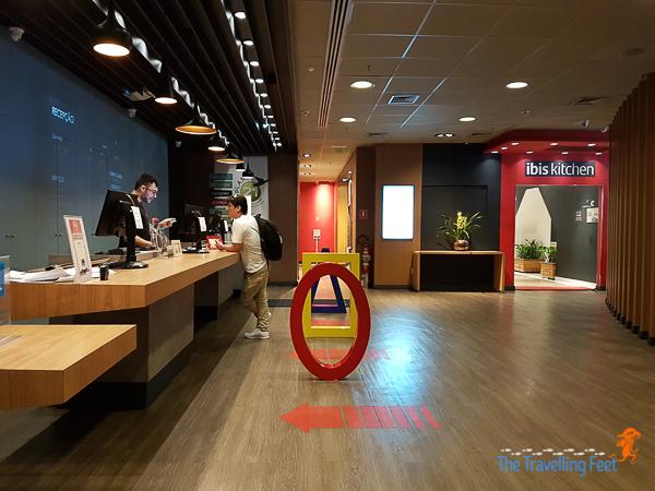 reception area of Ibis Hotel Paulista