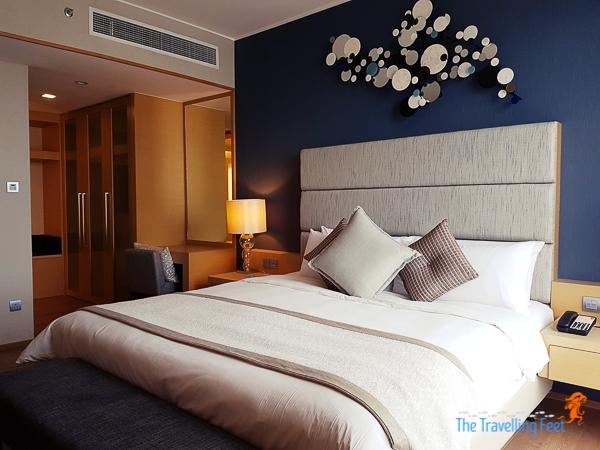 stylish rooms at Hotel Jen Puteri Harbour