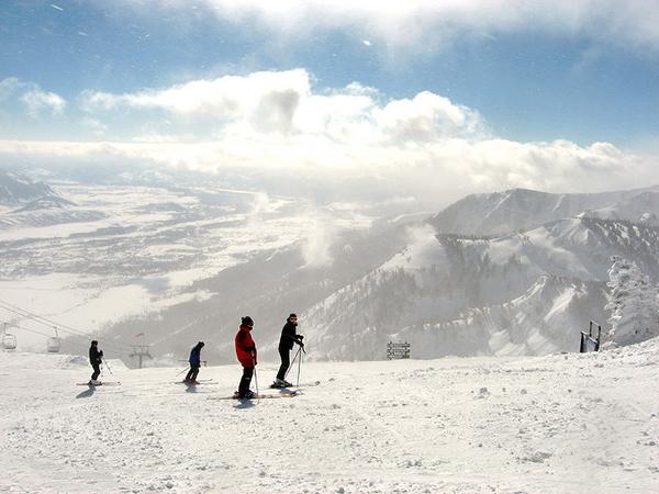 skiing at Jackson Hole