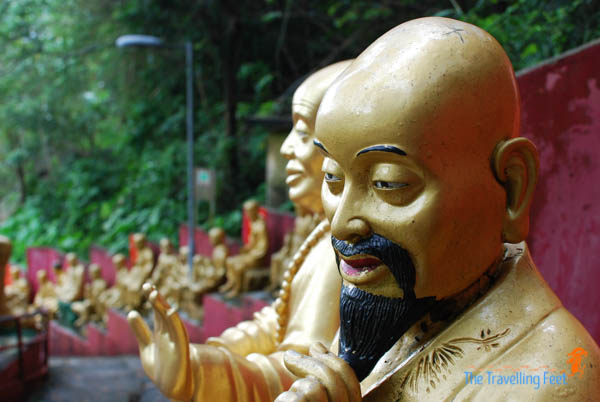 ten thousand buddhas in hong kong