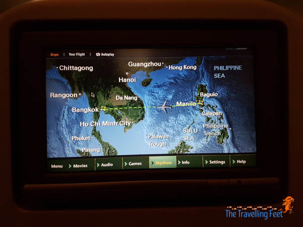Manila to Bangkok via Ethiopian Airilnes