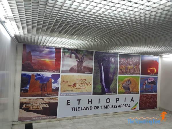 layover at Ethiopia