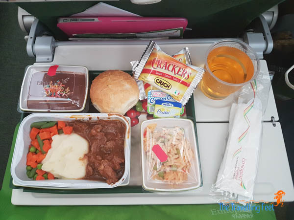 5th Meal Ethiopian Airlines - Manila to Sao Paulo, Brazil