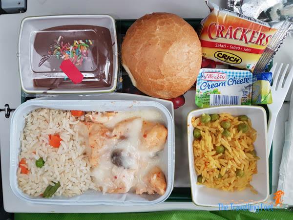 6th meal Ethiopian airlines - Manila to São Paulo, Brasil
