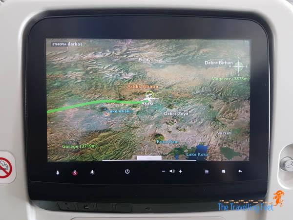 06 landing at Addis Ababa via Ethiopian Airline