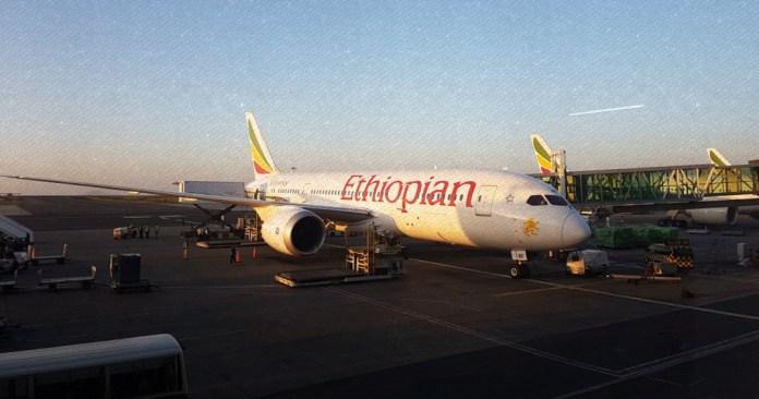 ethiopian airlines flight philippines to brazil