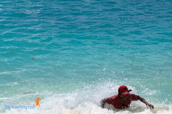 surfs up at dahican beach