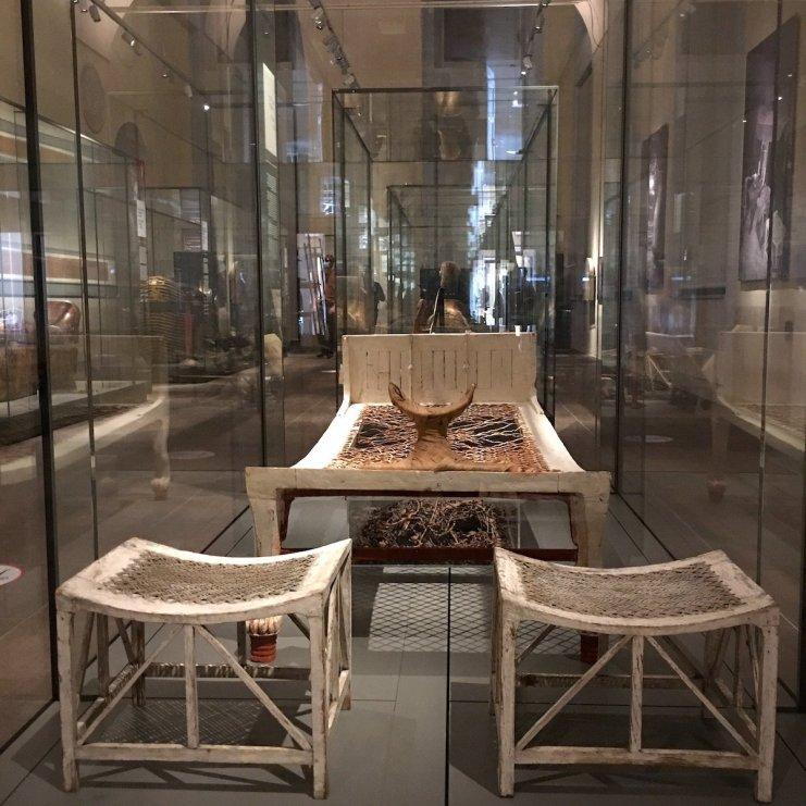letto museo egizio di Torino