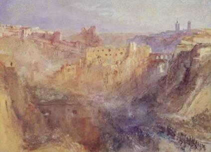 quadro di W. Turner